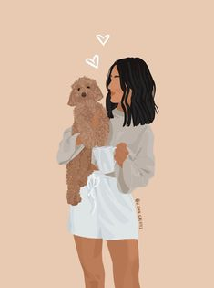 FAST Custom Pet Portrait Illustrations for Family, Couple, Wall Art, Pet Memorial, Loss, Decor