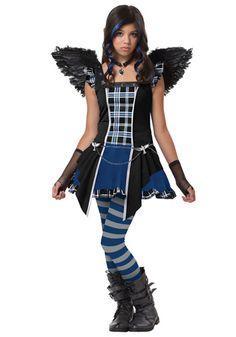Teen Strangeling Raven costume #Halloween