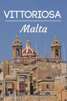 La superbe ville de Vittoriosa (ou Birgu) sur l'île de Malte