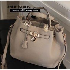 Vintage leather buckle bag