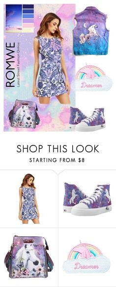 """""""Unicorn"""" by scope-stilettos ❤ liked on Polyvore featuring Nicole Lee and Jazzelli Designs"""