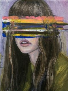 Painting by Helene Delmaire. #art #painting