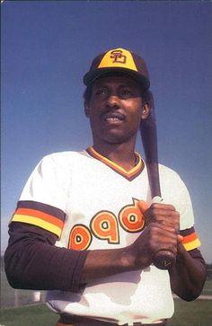 1983 San Diego Padres Postcards #NNO Alan Wiggins Front