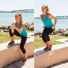 Outdoor Workout: Park Bench