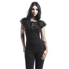 "Maglia donna ""Alyssa"" del brand #VoodooVixen."