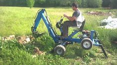 Concrete Block Walls, Mini Excavator, Metal Tools, Iron Work, Go Kart, Toys For Boys, Inventions, Outdoor Power Equipment, Garden Tools