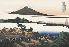甲州伊沢暁|葛飾北斎|富嶽三十六景|浮世絵のアダチ版画オンラインストア