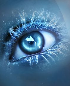 "Inspiration Gallery #096 – Photoshop | From up North (finally tracked down the title and artist!) ""Ice Eye"" by lorency"