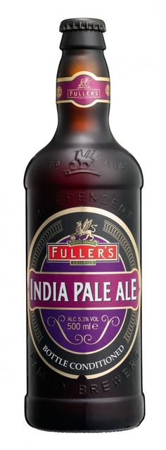 Fuller's IPA -- Amber body with loads of very active head. Could be a gusher if not careful. Overall a pretty typical British India Pale Ale so on the sweeter rather than bitter side. Tastes like a more subtle DIPA. Not bad. Bottle at Norton's Pub Cusco, Peru.