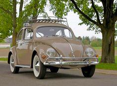 Stunning Vintage VW Bug Volkswagen Beetle
