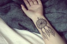A dream catcher to collect only good thoughts and dreams <3