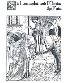 regram @delartmuseum We are joining @nyamhistory in #colorourcollections with a lovely illustration from The Story of the Champions of the Round Table written and illustrated by Howard Pyle.  To download an image to color go to http://twitter.com/delartmuseum.  #rarebooks #specialcollections #coloring #adultcoloringbook #howardpyle #librariesofinstagram by brandywinetreasuretrail