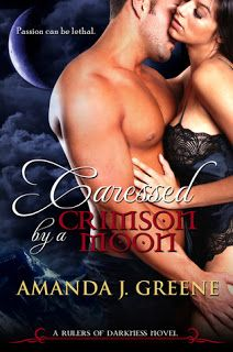 Vampy and Racey Book Blog: Review - Caressed by a Crimson Moon (Rulers of Dar...