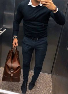 Trendy Fashion Trends For Men Moda Masculina Ideas Mens Fashion 2018, Fashion Mode, Mens Fashion Suits, Mens Smart Casual Fashion, Trendy Fashion, Mens Casual Winter Clothes, Style Fashion, Fashion Vintage, Men's Formal Fashion