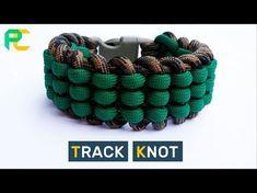 Track Knot Paracord Bracelet - YouTube