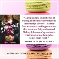 Part of the reason I write about people who can do things that I can't is because I love learning! So it makes me especially happy when I find out my books inspire others to try new things as well. #BittersweetBook