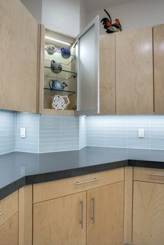 Modern Kitchen Renovation - Kitchen Countertop Modern Kitchen Renovation, Kitchen Remodel, Kitchen Countertops, Kitchen Cabinets, Home Remodeling Contractors, Storage, Organization, Home Decor, Purse Storage