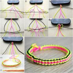 How to Make DIY 6 String Braided Friendship Bracelets