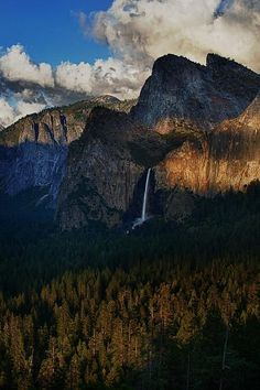 Bridalveil Falls, Yosemite National Park; photo by Rick Berk