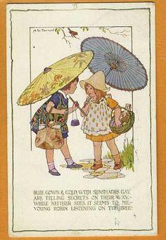 Margaret Winifred TARRANT postcard