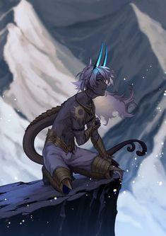 Fantasy Character Design, Character Design Inspiration, Character Concept, Character Art, Dnd Characters, Fantasy Characters, Mythical Creatures Art, Fantasy Creatures, Anime Demon