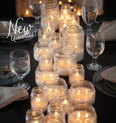Heritage with Diamond-Light™ is now available in Unscented! The Unscented wax is filled to a lower level so that you and your guests can be mesmerized by the sparkle of Diamond-Light from the moment you light the wicks. visit http://everlastinglight.mygc.com/ to place your order.