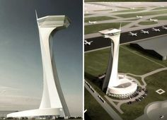 Air Traffic Control Tower at Istanbul New Airport