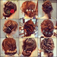 インスタで大人気!カリスマ美容師益田愛梨さんに学ぶお呼ばれヘアアレンジ集♡にて紹介している画像