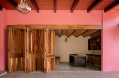 Gallery of Tonallán House / Amarillo Amate Arquitectura - 3 Floor Plans, Loft, House, Flooring, Gallery, Furniture, Home Decor, Home, Wooden Gates