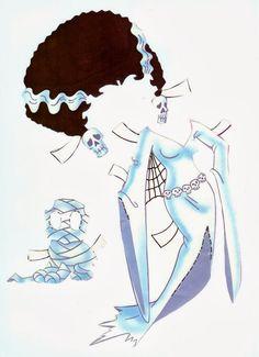 Super charmosa esta boneca de papel da Betty Boop.