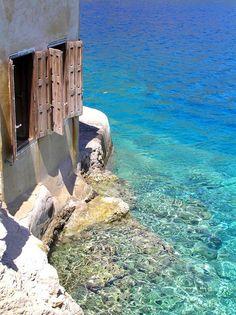 Kastelorizo, Greece (via Pinterest)