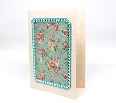 Vintage Inspired Card All Occasions Card by AmeliaRyCreations
