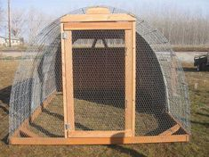 Raising chickens has gained a lot of popularity over the past few years. If you take proper care of your chickens, you will have fresh eggs regularly. You need a chicken coop to raise chickens properly. Use these chicken coop essentials so that you can. Backyard Chicken Coop Plans, Portable Chicken Coop, Building A Chicken Coop, Chickens Backyard, Backyard Ideas, Hoop House Chickens, Garden Ideas, Garden Projects, Diy Projects