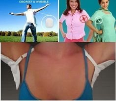 Underarm sweat pads to Stop Underarm Odor