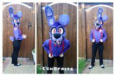 FNaF Bonnie Cosplay by CowSprite.deviantart.com on @DeviantArt