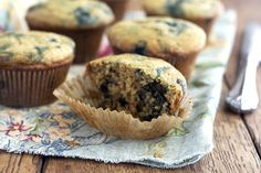Blueberry Muffins via DeliciouslyOrganic.net...these are the best ...
