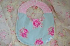 Bib Shabby Chic Bib Baby Girl Bib by LyLyRosee on Etsy, $7.00