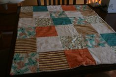 Retro Baby Blanket by JackAbbotts on Etsy, $10.00