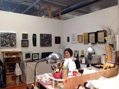 Denise Laws in Mission Studio-San Francisco