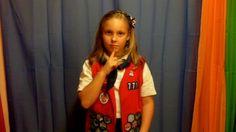 American Heritage Girl Oath in ASL by Peter Schott. Learn the AHG oath in ASL