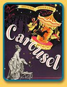 [Souvenir program for Carousel. Photo courtesy The Rodgers and Hammerstein Organization.]
