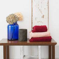 Set of 8 Cotton Towels designed in Germany by CASA DI BASSI #MONOQI