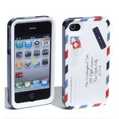 Amazon.com: Designer kate spade 'airmail' iPhone 4 & 4S hard case: Cell Phones & Accessories
