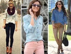 Camisa Jeans Feminina 4