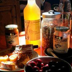 trésors de l'Ardèche.... french food
