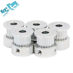 20 tooth Timing Pulley Aluminum Printer Parts Bore Width Part Synchronous Wheel Gear with Screw Teeth Price: USD Cheap 3d Printer, 3d Printer Parts, Timing Belt, Office And School Supplies, Pulley, Card Wallet, Gears, Teeth, Silver