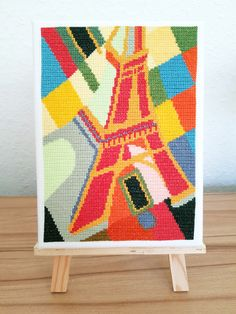 Get this PDF cross stitch pattern for only 4,99€ Cross Stitches, Cross Stitch Patterns, Easy Peasy, Pdf, Kids Rugs, Abstract, Punto De Cruz, Dots, Summary