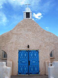 """blue skies blue doors"""" by Sherri Camperchioli"""