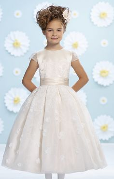 Catan Fashions - Joan Calabrese Flower Girl Dress Style #116376