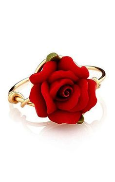 Red Rose Ring <3